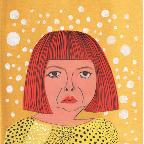 Yayoi Kusama for HEY LADY Issue 6