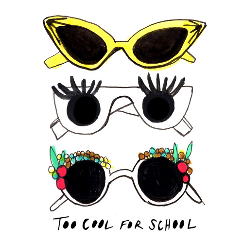 Illustration for Too Cool for School