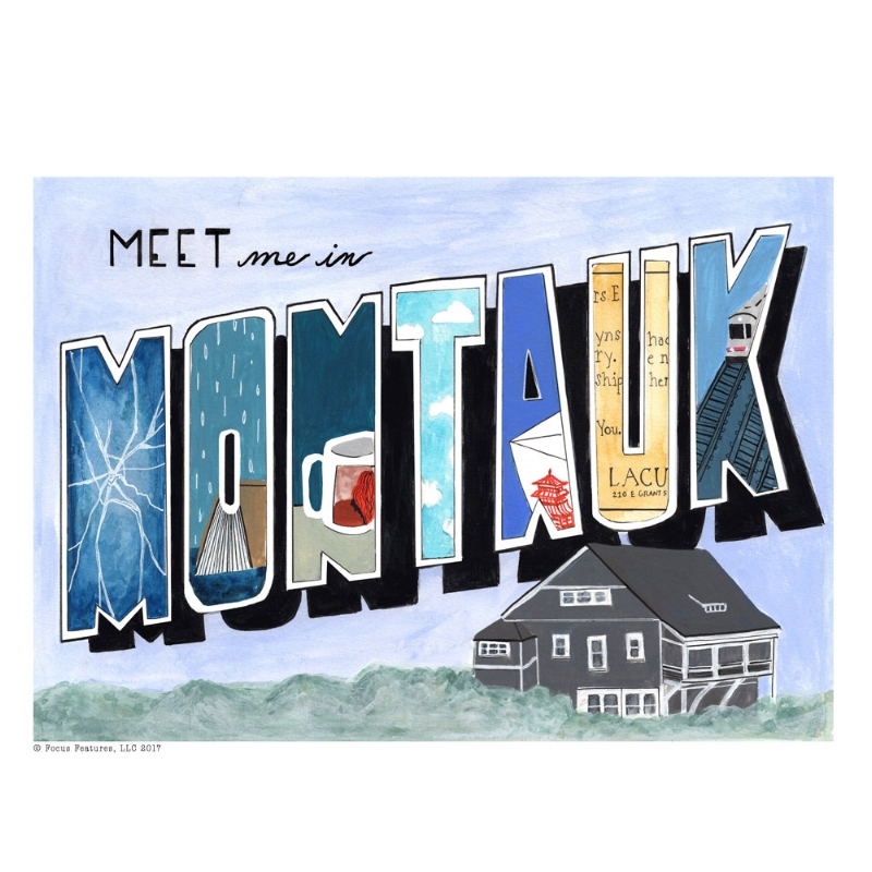 Meet Me In Montauk , painting for the Focus Features Exhibit at  Gallery 1988