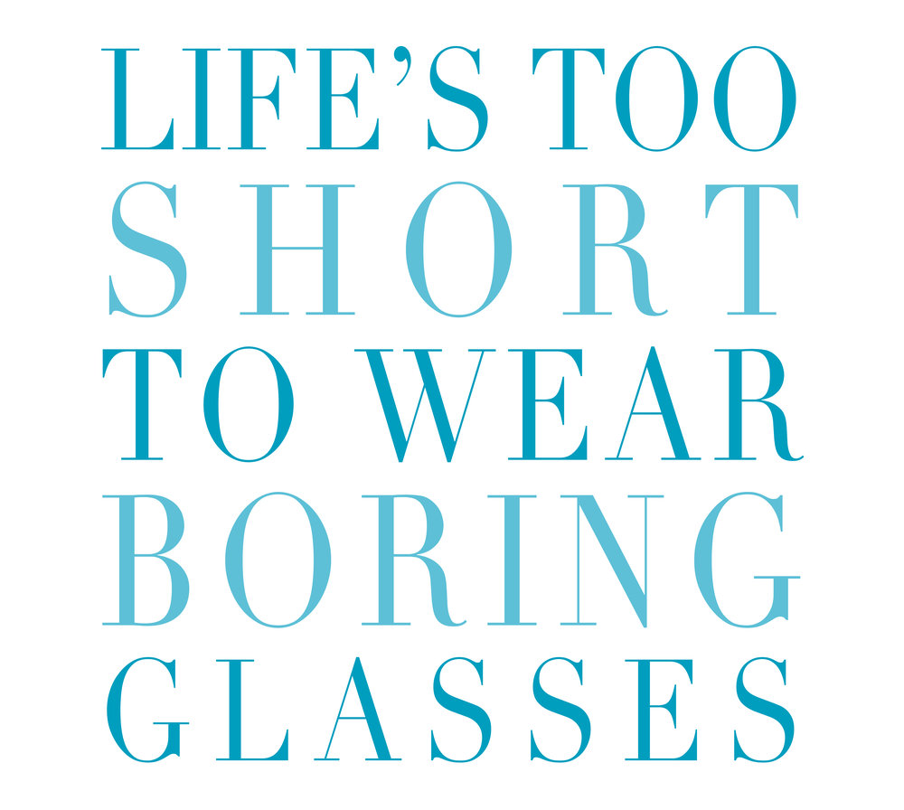life's too short for boeing glasses