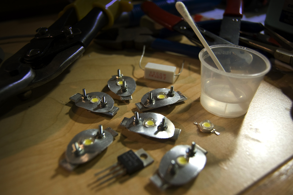 sheet metal LEDs