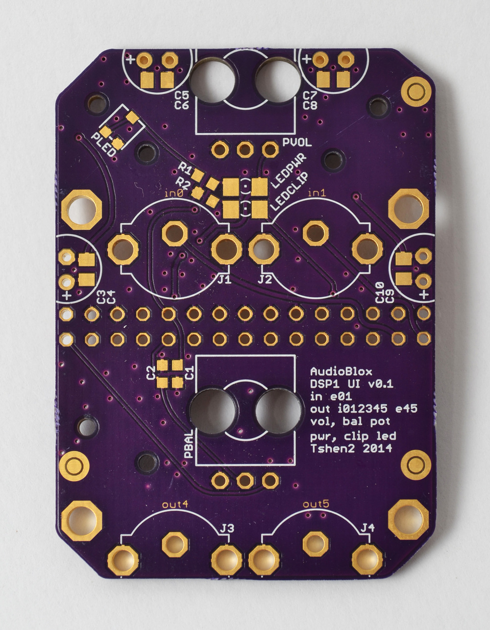 user interface PCB