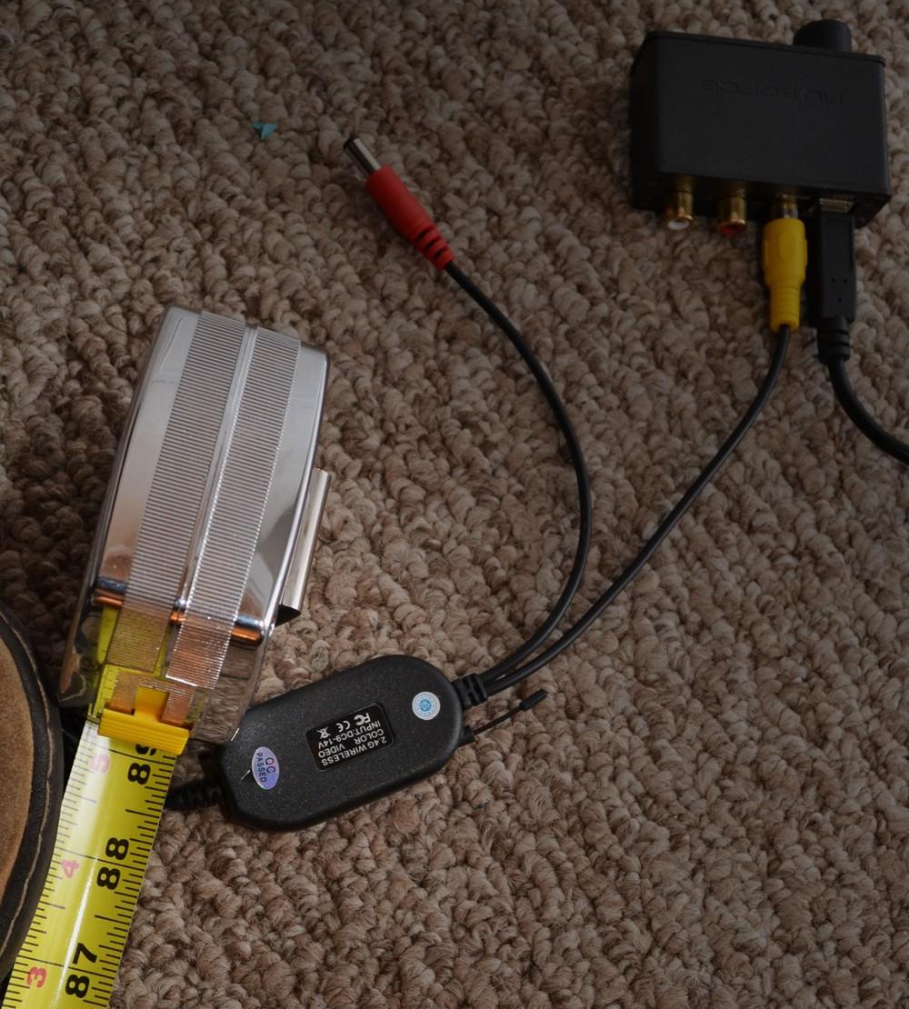 2. NTSC transmitter: to transmit SPDIF wirelessly