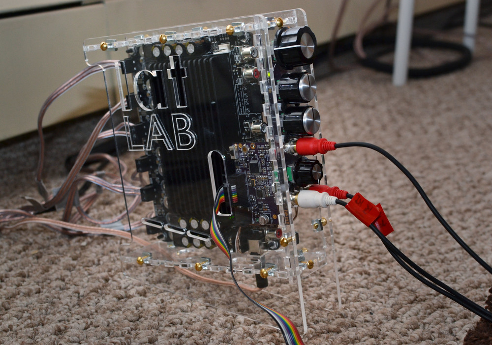DSP 01 in new chassis, with rainbow programming cable