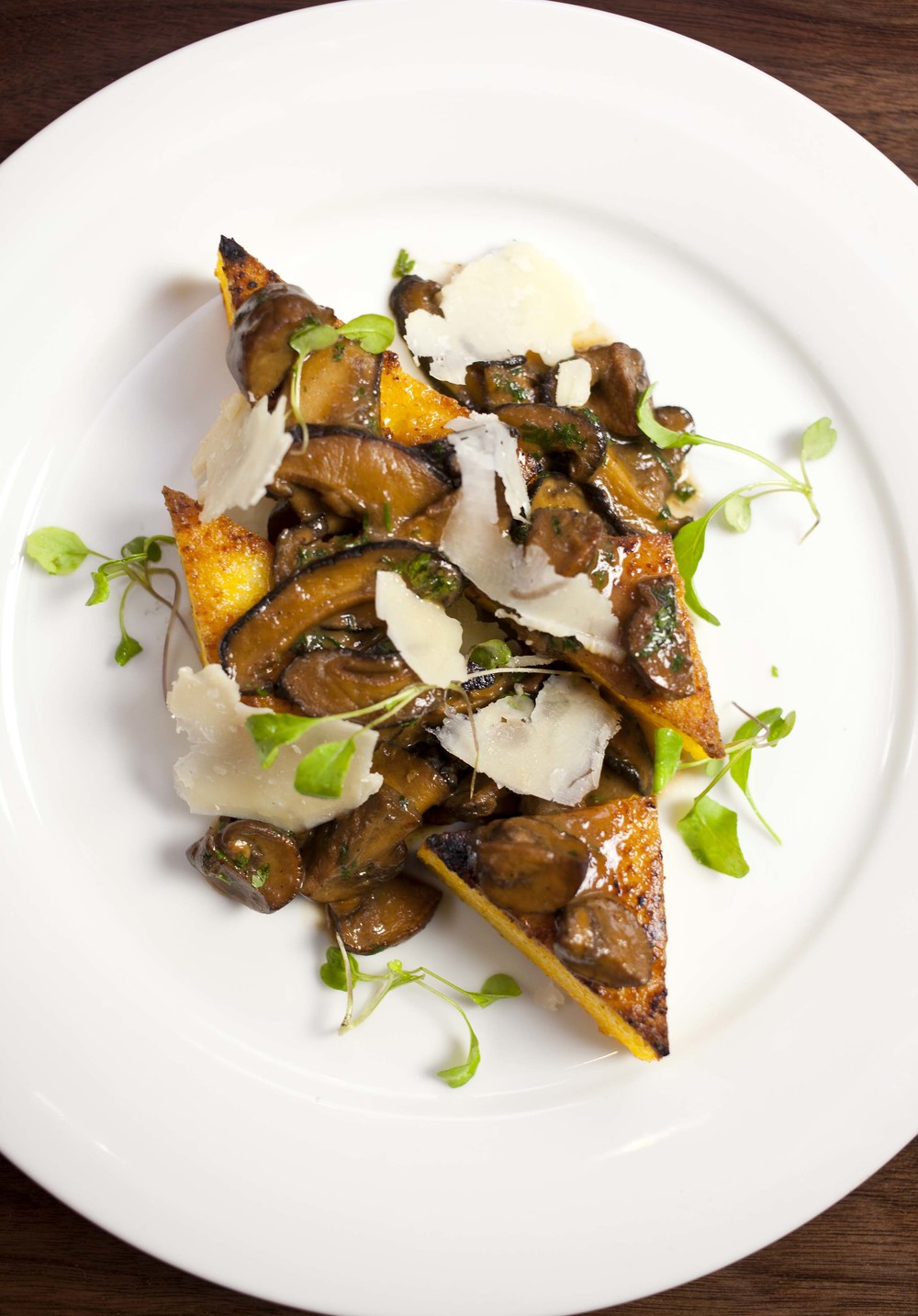 The polenta dish, my absolute favorite! Dreaming of consuming it as I type.