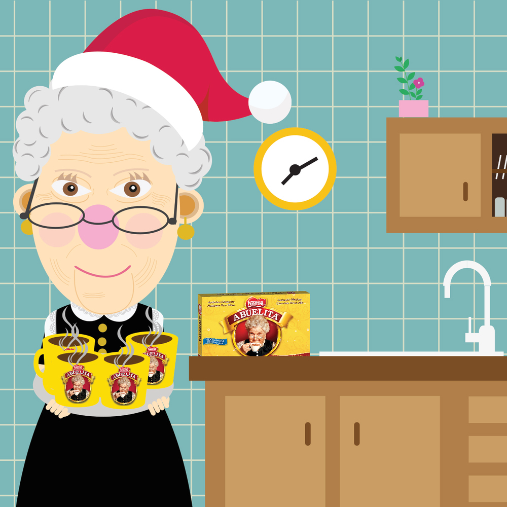 Abuelita | Spoils you during the Holidays — Isabella Escalon