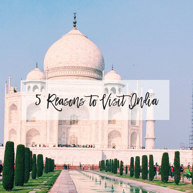5 reasons to visit india