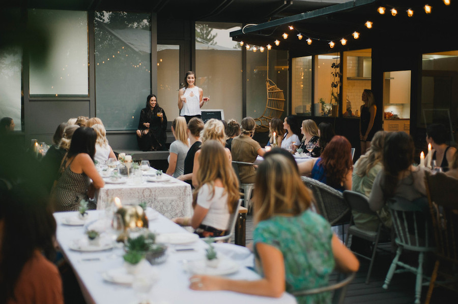 Darling Dinner event | Redding, Ca