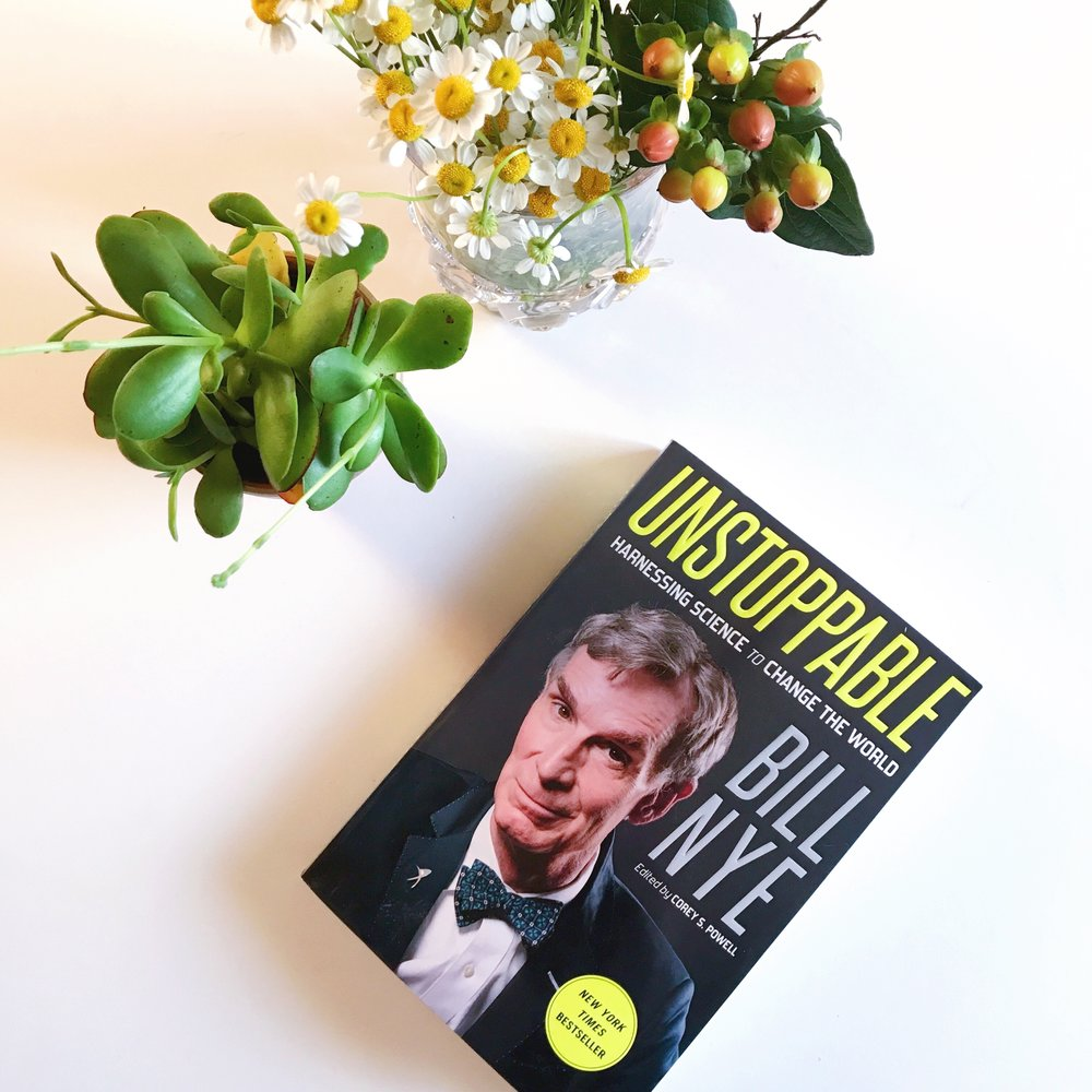 bill nye the science guy unstoppable book