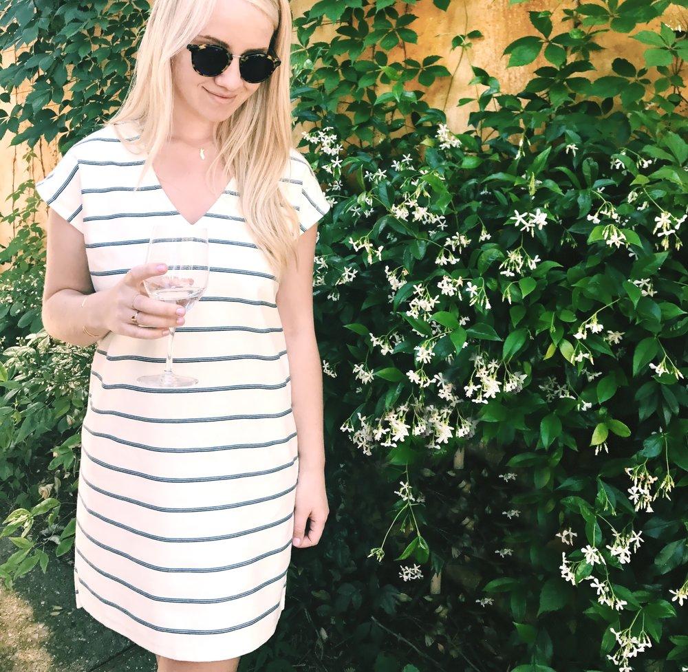 Dress + sunglasses:  Madewell