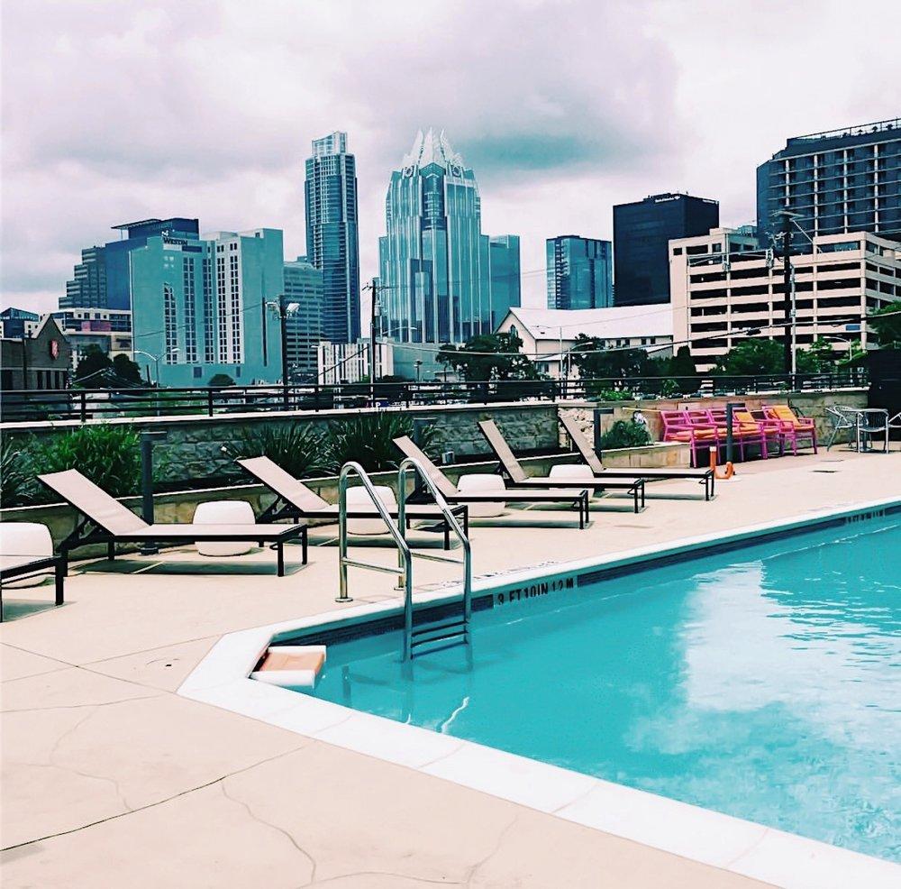 pool view austin texas