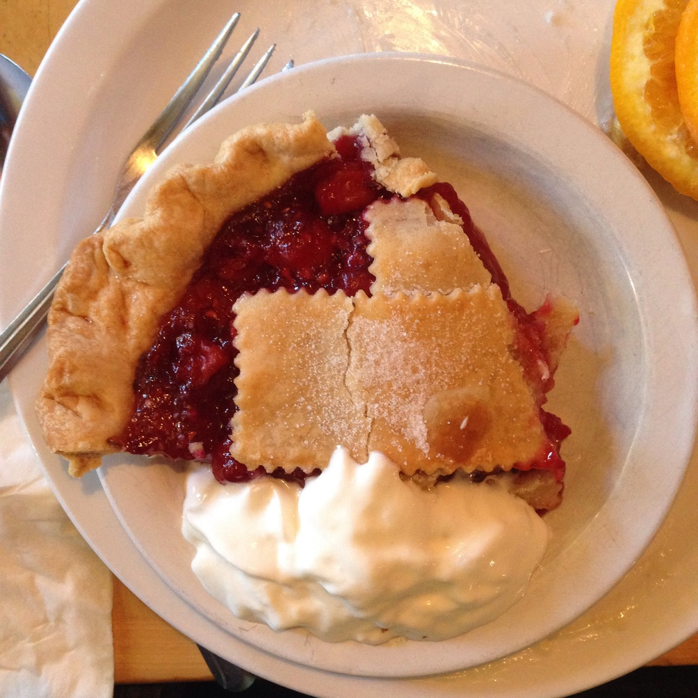 Pretty good pie at Lula's