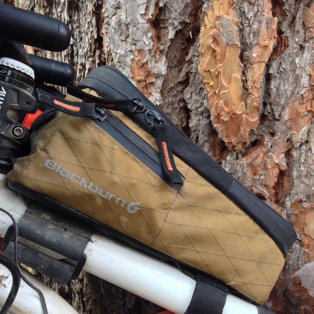 Ranger edition Blackburn top tube bag