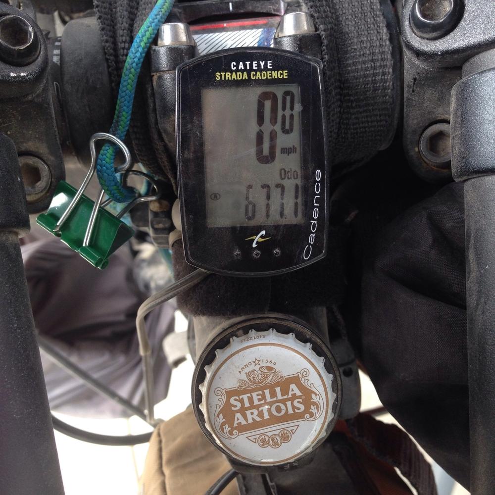 Strada cateye wired cyclometer