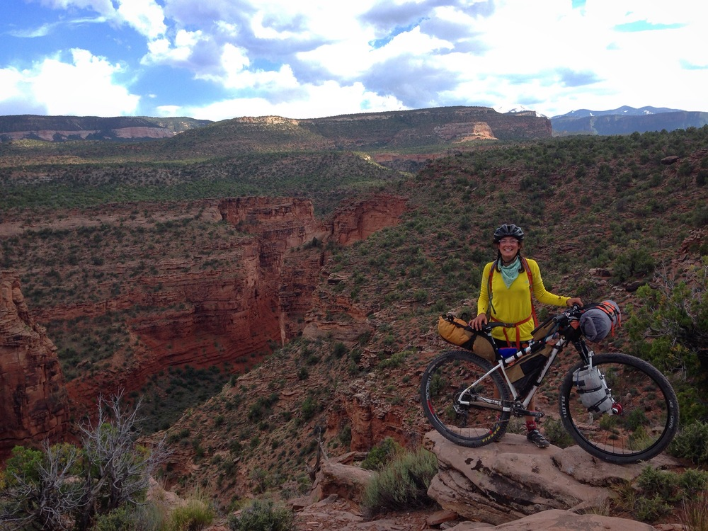 Bikepacking the Kokopelli Trail in spring of 2016