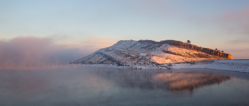 Photo by Colin Gould - Horsetooth Reservior, Fort Collins