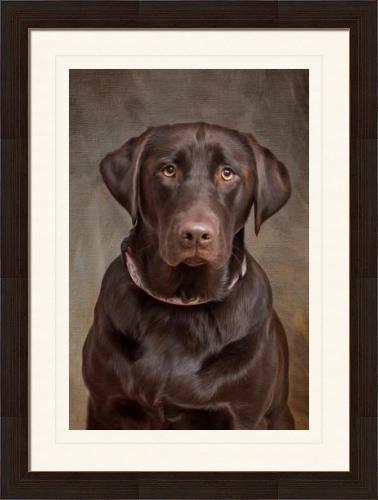 Framed/Matted Fine Art Portrait