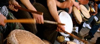Maximum Impact drumming workshop