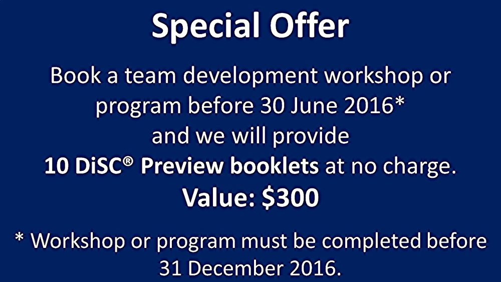 Does not apply in conjunction with other offers or quotations prepared prior to 1 June 2016.