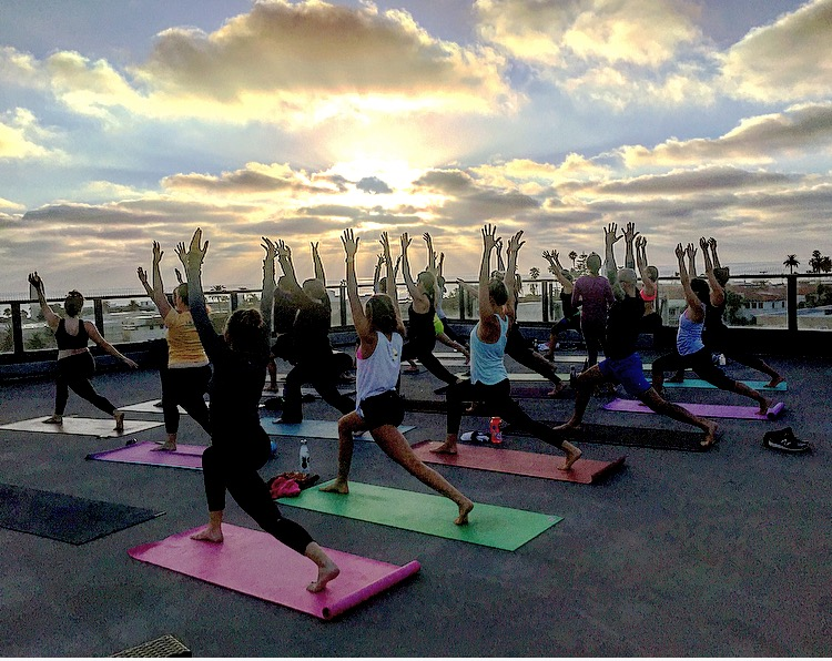 Rooftop + Sunset Yoga Class