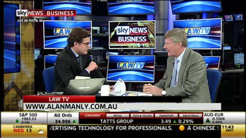 Sky News Business - Law TV with Carson Scott
