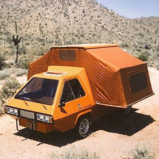 I just discovered my dream camper, anyone know what this is? 💛💛💛 ・・・ 📷@sugarhighlovestoned