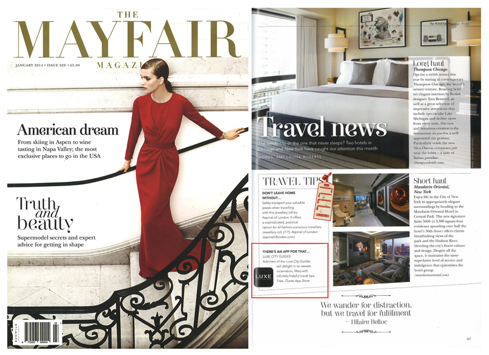 The Mayfair Magazine - January, 2014