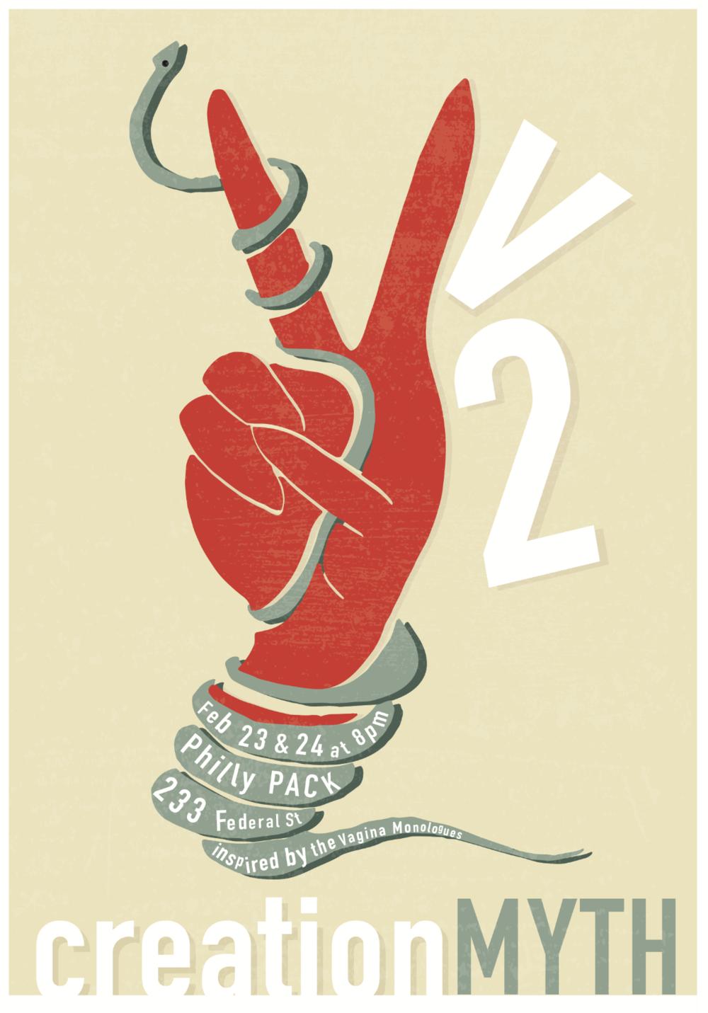 V2 Creation Myth - Poster