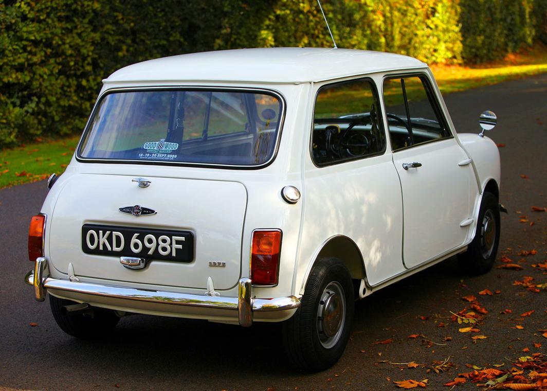 Mini 1968 mini cooper : The Whole Car - 1968 MORRIS MINI POLICE COOPER S