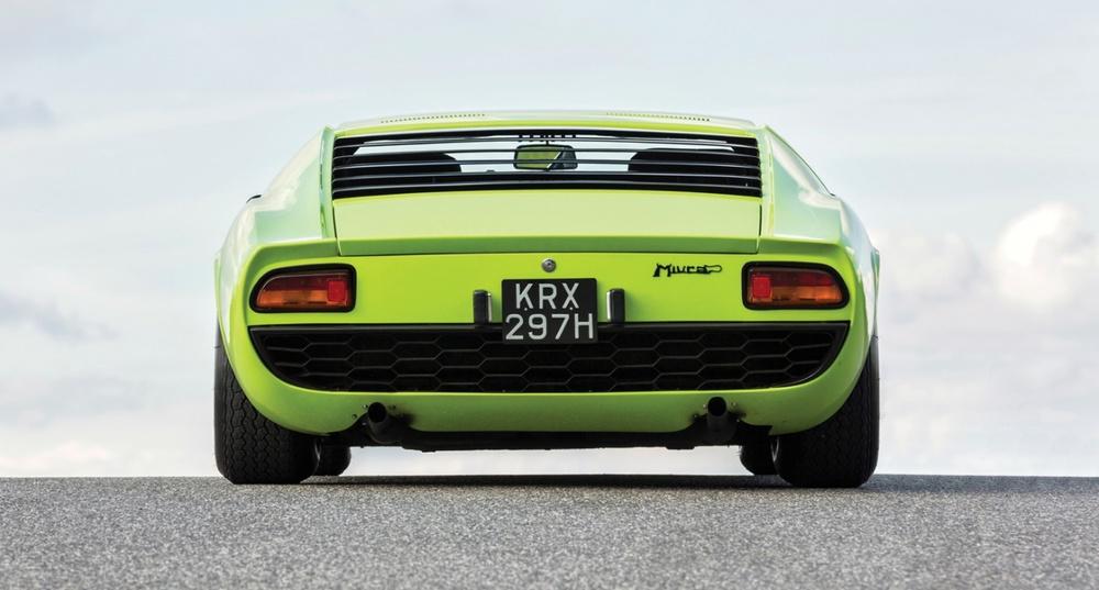 The Whole Car 1968 Lamborghini Miura P400