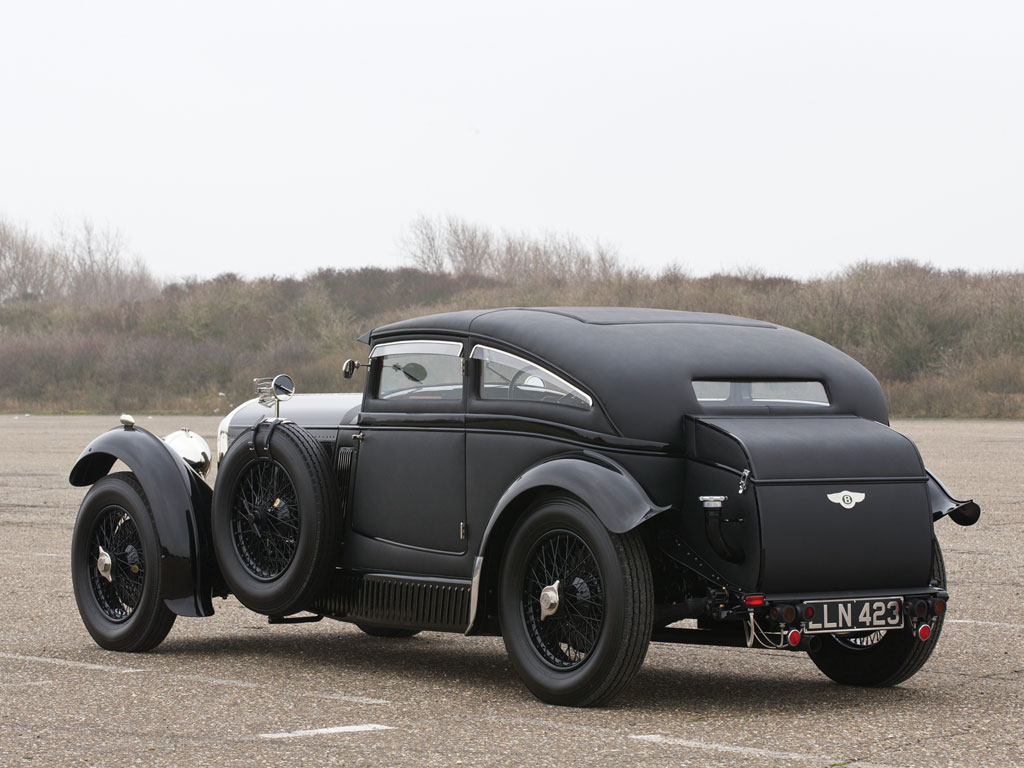 The Whole Car - 1930 Bentley \'Blue Train\' Recreation