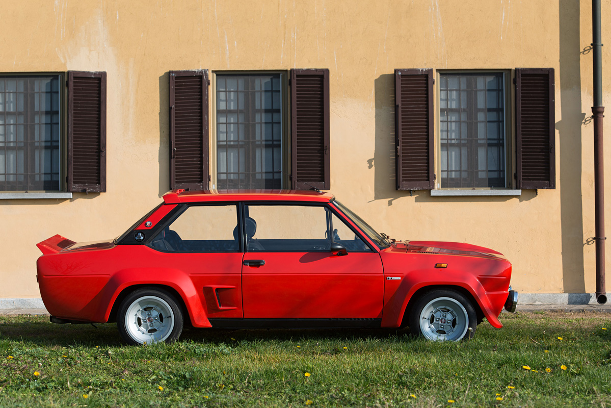 1976 Fiat 131 Abarth Stradale