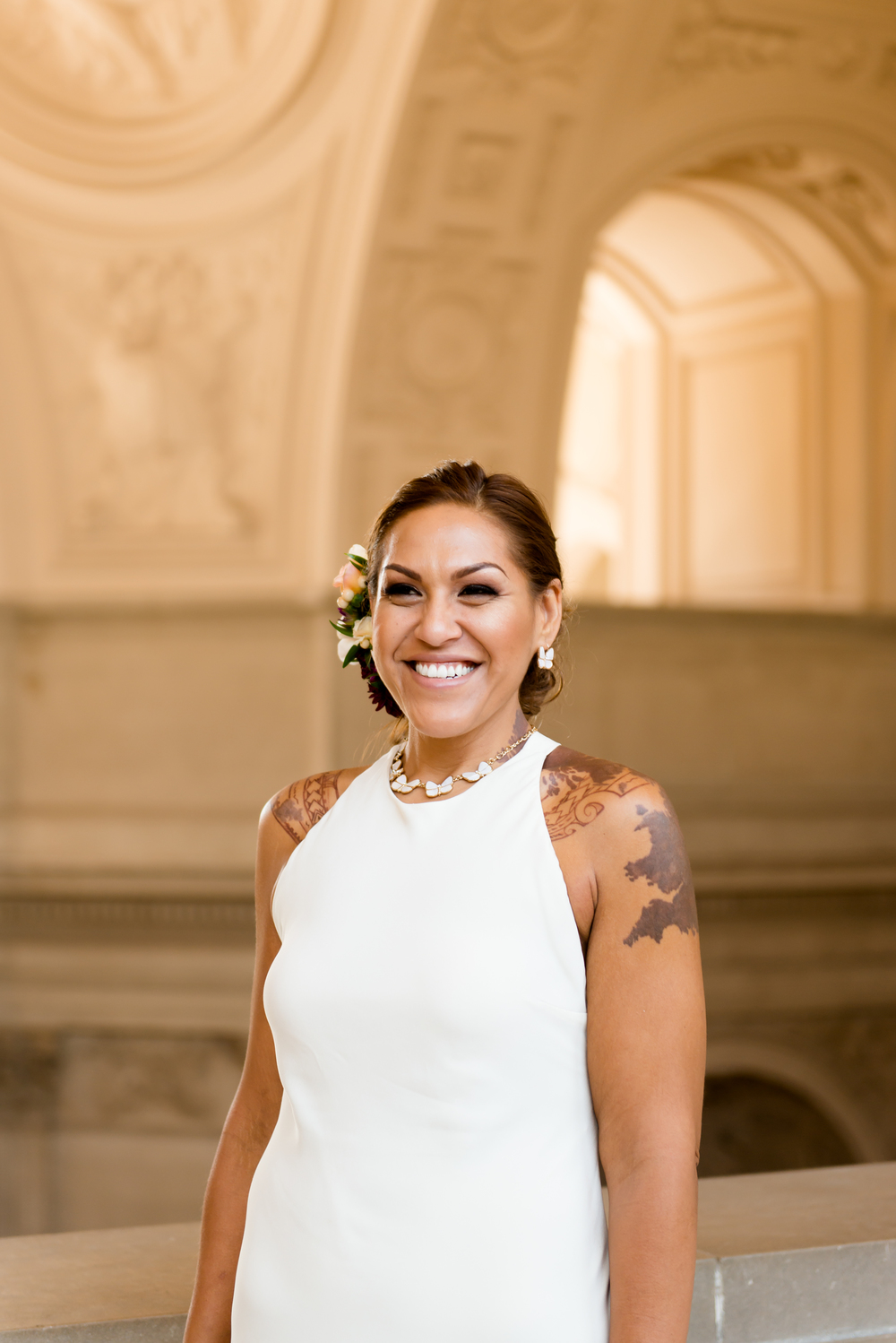 SF City Hall Bride