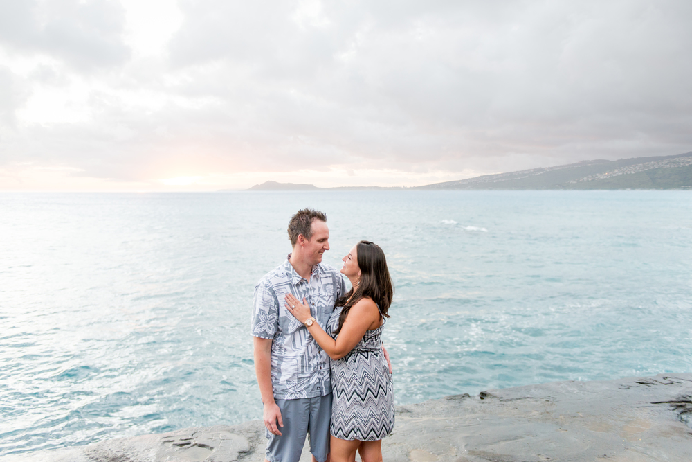 Couples Engagement Session Oahu Hawaii