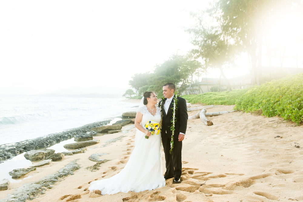 Beach Wedding Kauai
