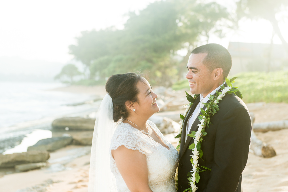 Kapaa Beach Wedding