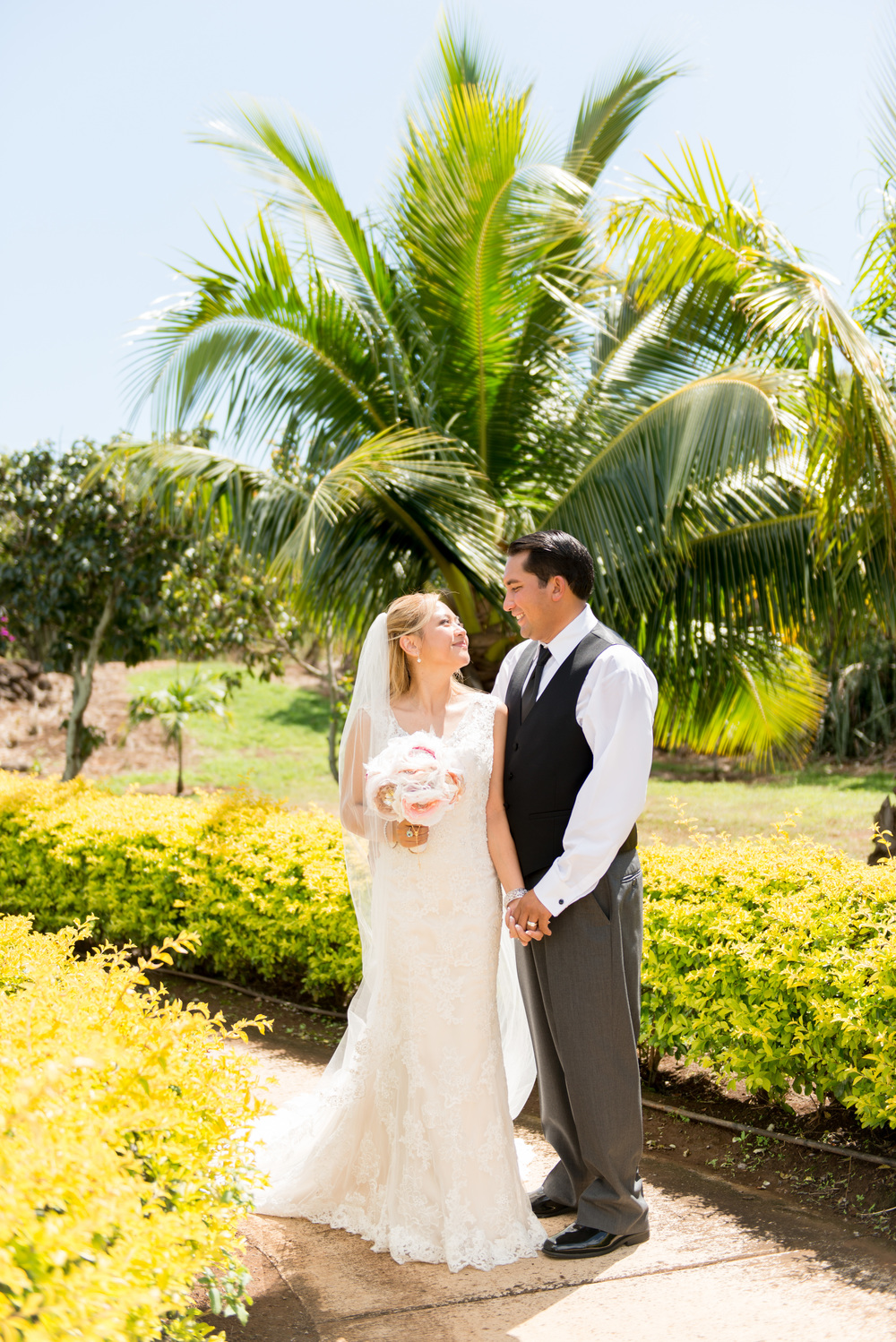 Tropical Kauai Wedding