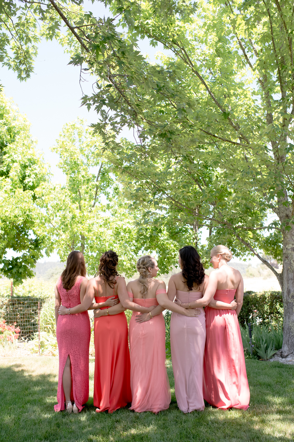 PINK MIS MATCHED DRESSES