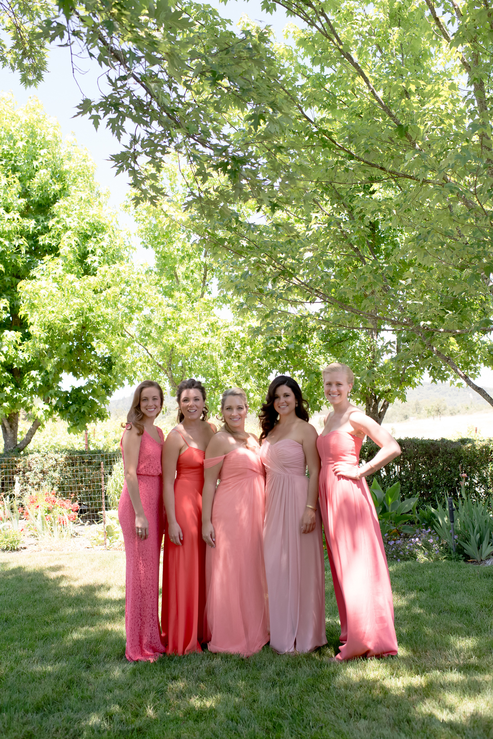 PRETTY IN PINK BRIDESMAIDES