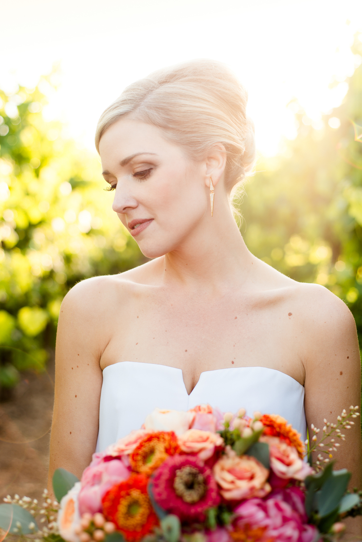 BRIDAL PORTRAIT IN SONOMA
