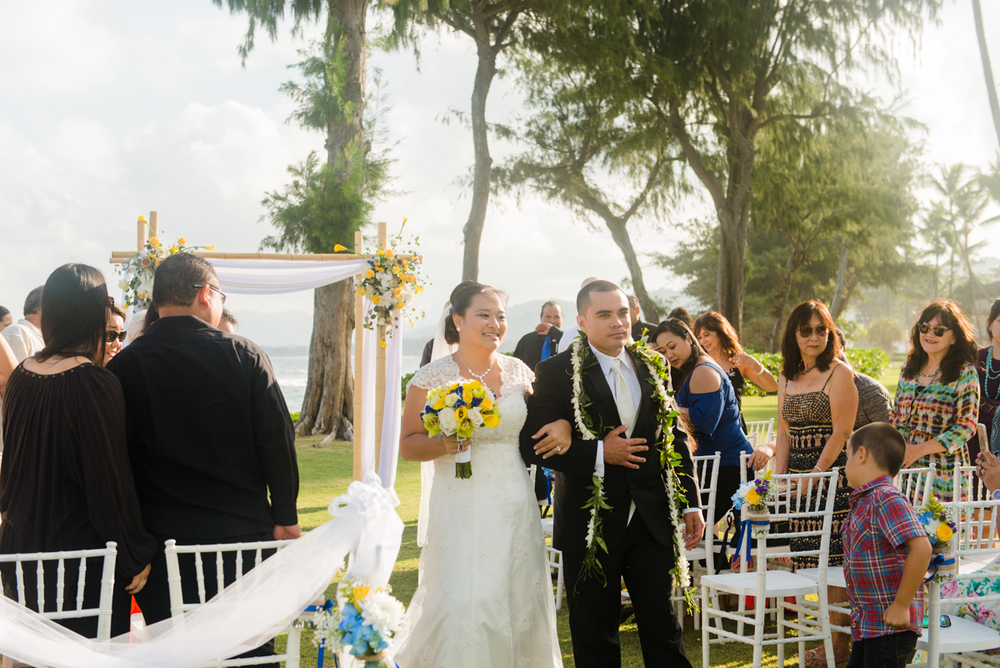 Wailua Hawaii Wedding