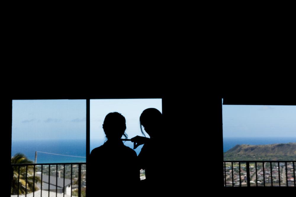 Estate overlooking Diamond Head