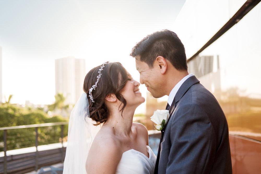 Oahu Wedding of Krystal and Marcus