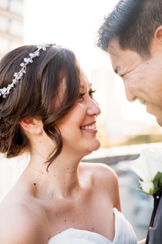 Newlyweds at Honolulu Design Center