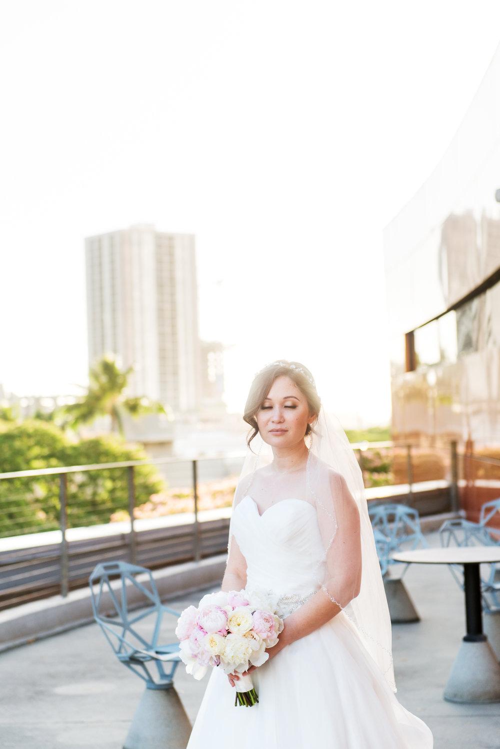 Oahu Wedding Bridal Portrait