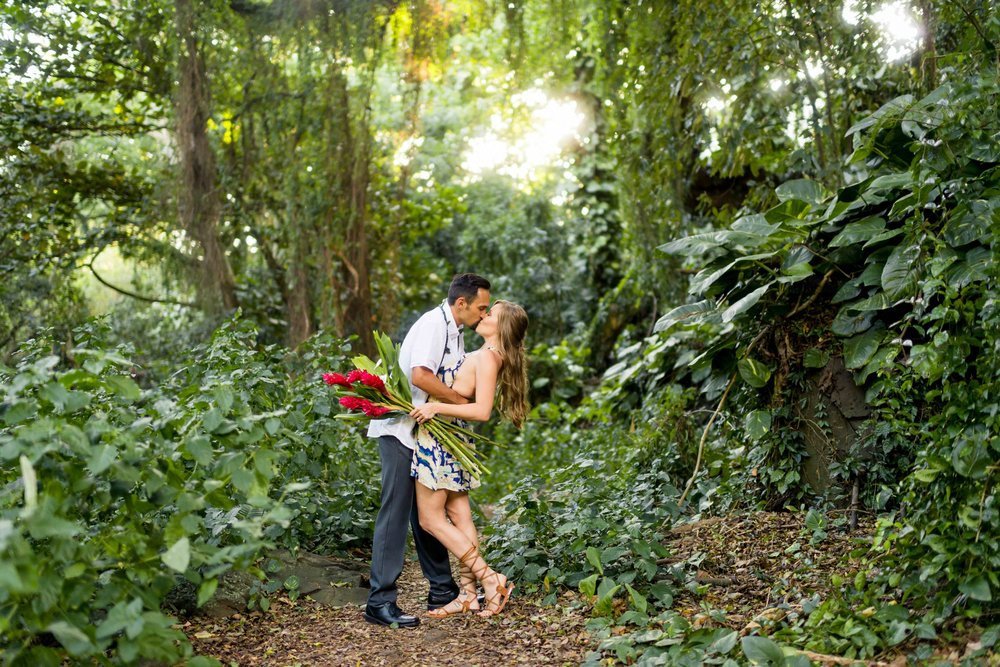 Oahu Forest Engagement Session in Nuuanu.