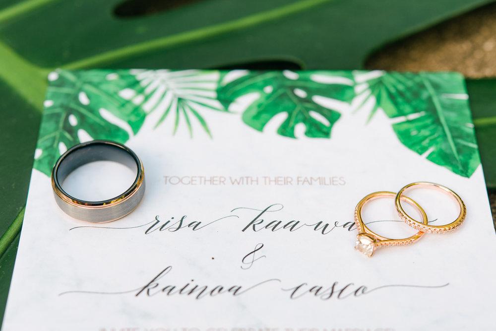 Wedding Invites, Hawaii
