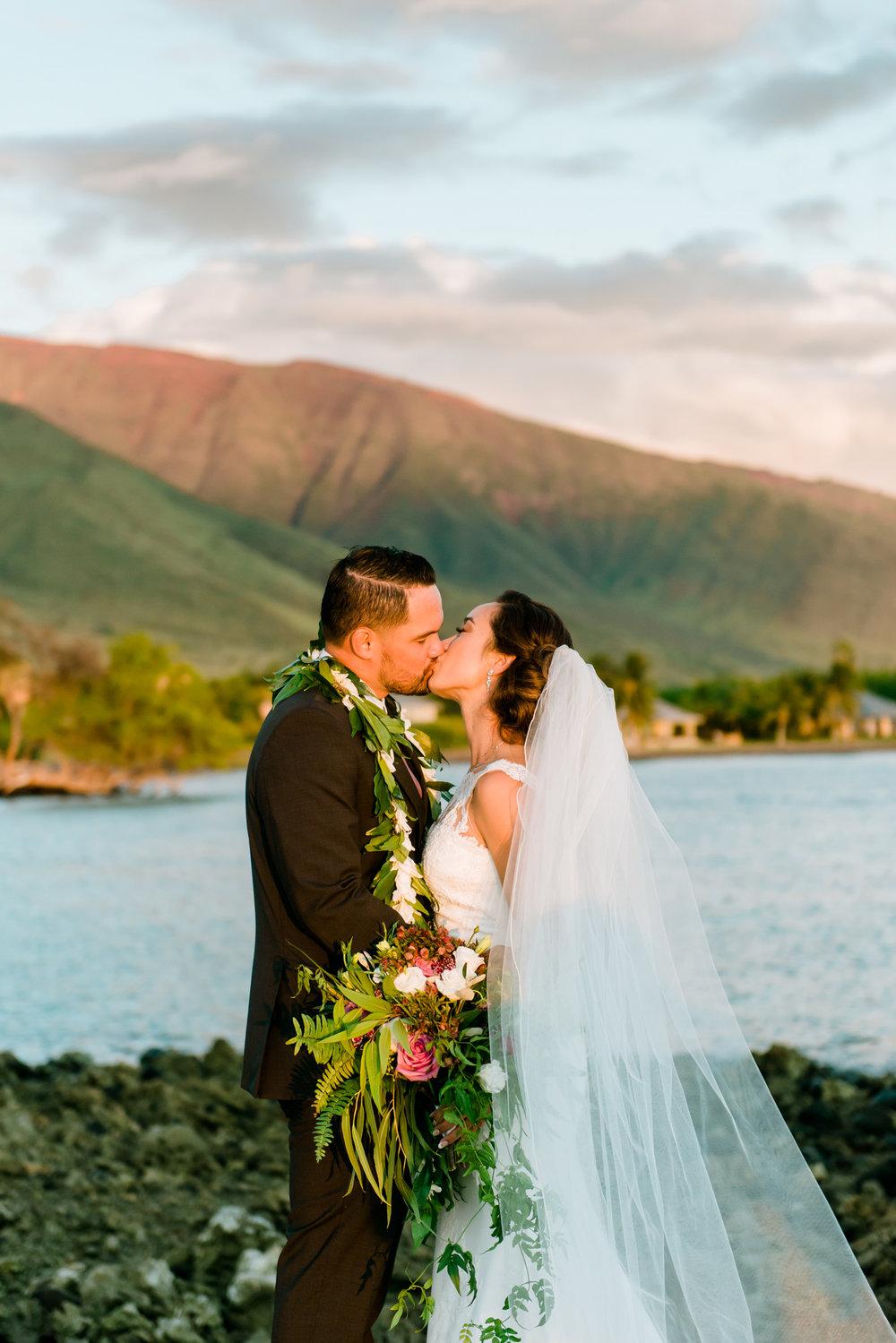 Maui Wedding Newlywed