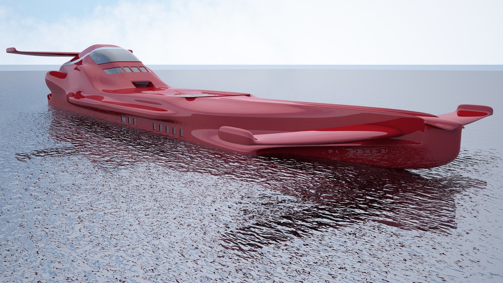 f1 super yacht idea