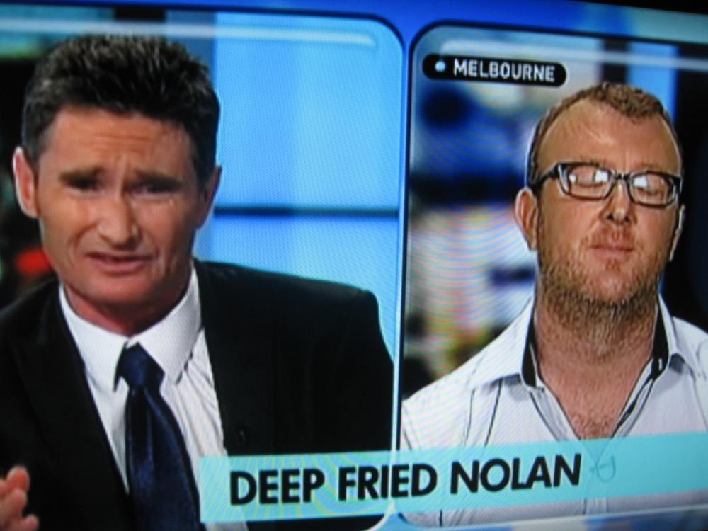 Deep Fried Nolan interview (still)